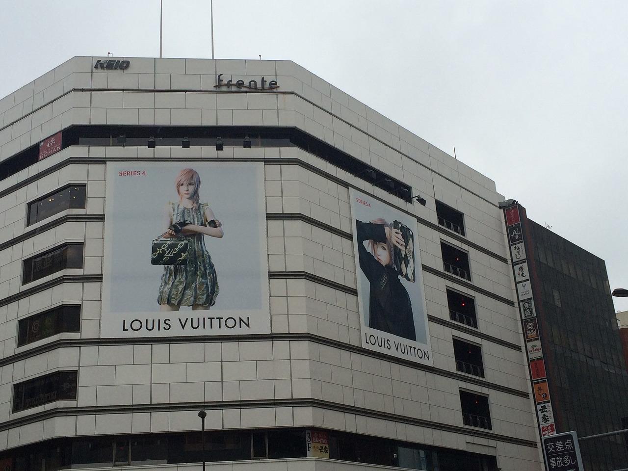 ルイ ヴィトン 2016ssコレクション ももちゃんの看板 広告 製作大好き